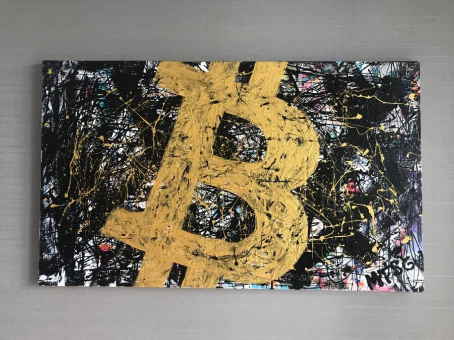Crypto Art by Sergey Gordienko aka LSKiP