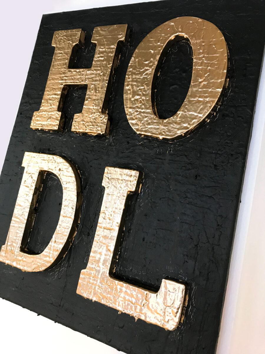 HODL gold by Sergey Gordienko aka LSKiP