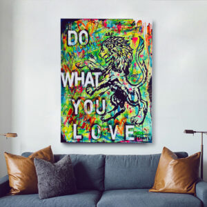 Do What You Love Lion